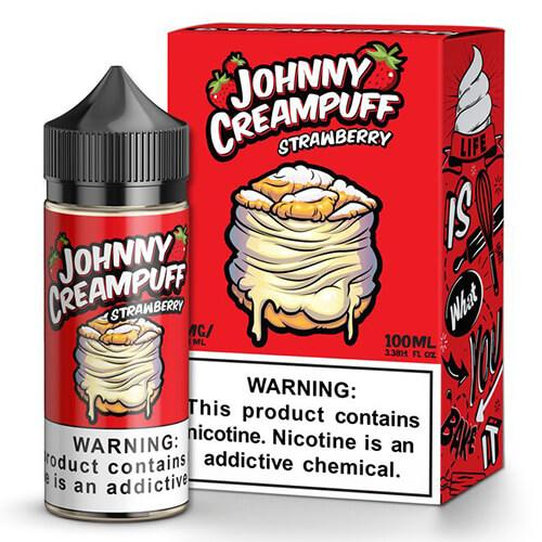 JOHNNY CREAMPUFF – STRAWBERRY 100ml