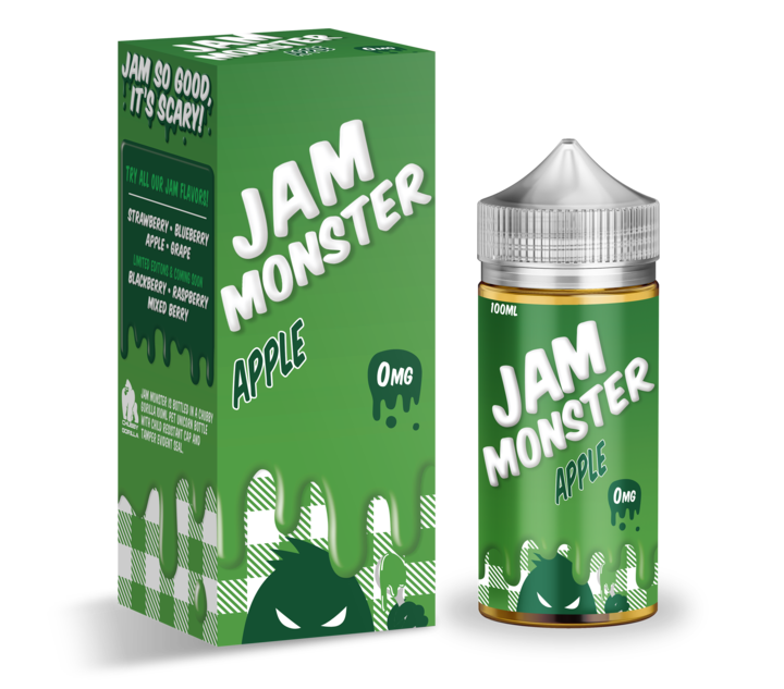Jam Monster APPLE 100ml