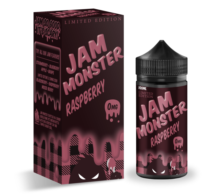Jam Monster RASPBERRY 100ml